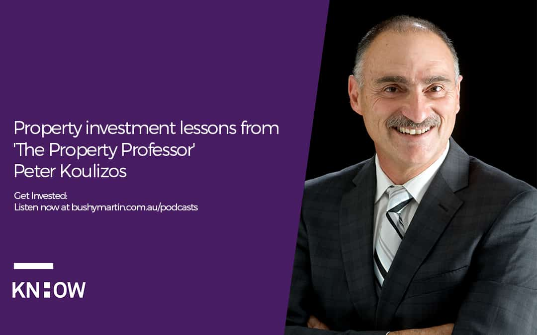 Property investment lessons from 'The Property Professor' Peter Koulizos