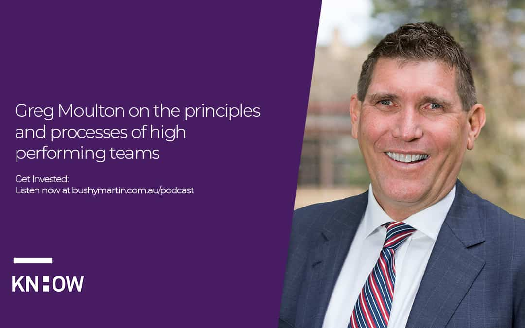 Greg Moulton on the principles and processes of high performing teams