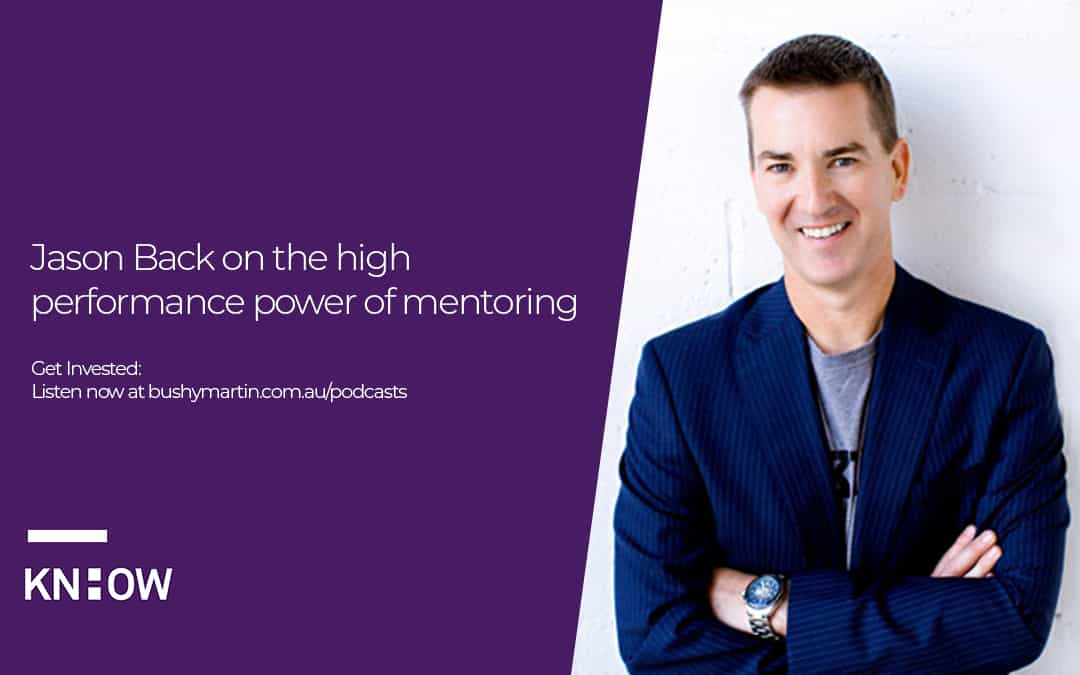 Jason Back on the high performance power of mentoring