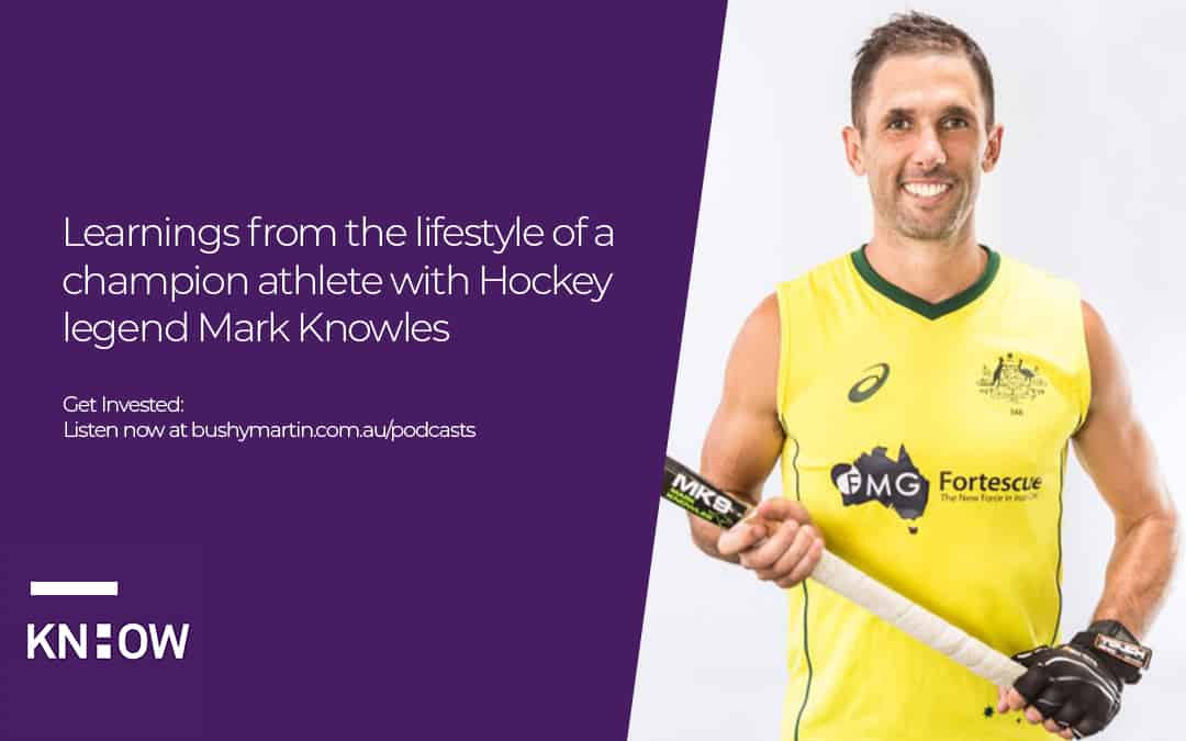 Learnings from the lifestyle of a champion athlete with Hockey legend Mark Knowles