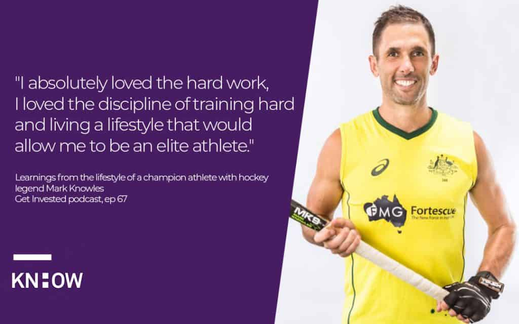 mark knowles on success and high performance