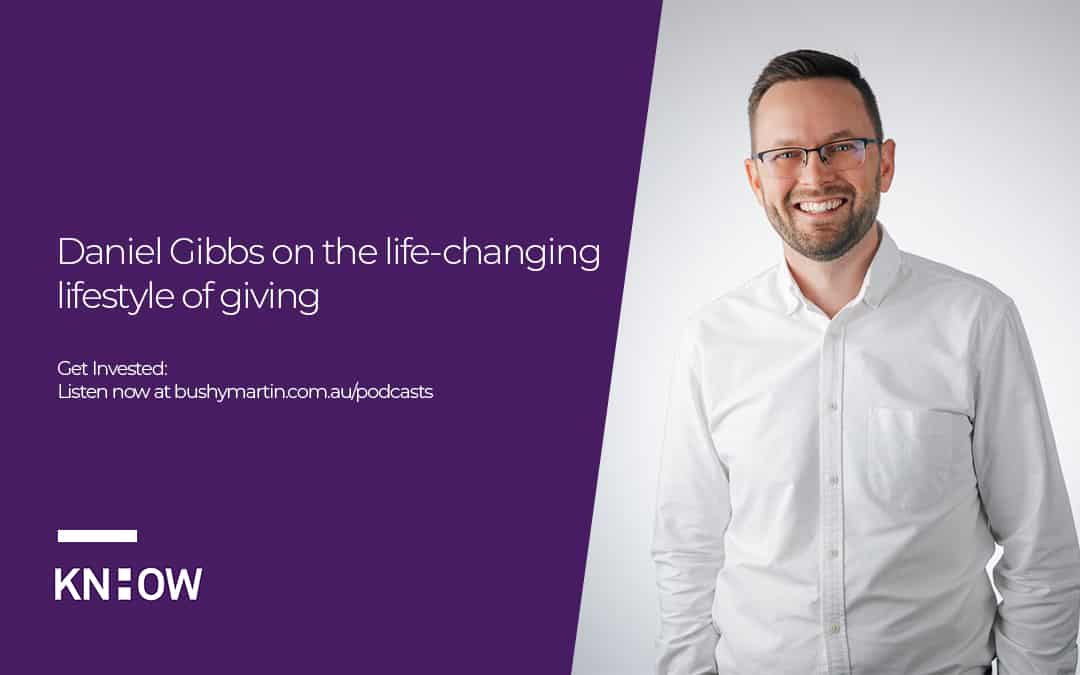 Daniel Gibbs on the life changing power of giving